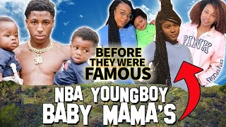 NBA Youngboy's 6 Baby Mama's | Before They Were Famous | Jania Meshell, LaPattra Jacobs & more