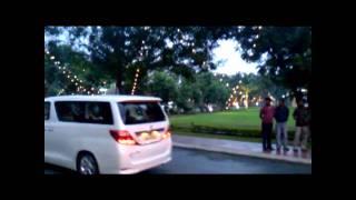 Kalaignar Karunanidhi's Convoy @ VIT University