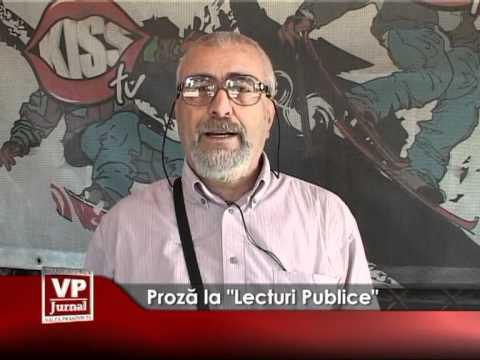 """Proză la """"Lecturi Publice"""""""
