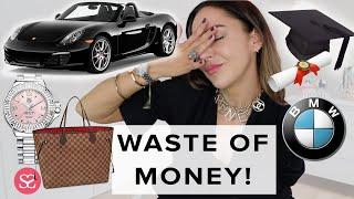 THE WORST THINGS I EVER BOUGHT (& Some of the Best): DEGREE, PORSCHE, BMW, TAG HEUER