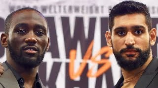 ENTON BELIEVES CRAWFORD WILL STOP KHAN LATE ON