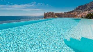 🏰 Элитная недвижимость Монако - Двухэтажный Пентхаус с бассейном в Монако