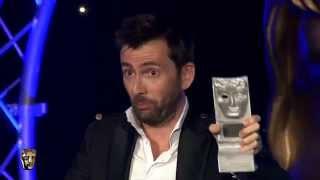 """David Tennant gagne le Best Actor Award pour """"The Escape Artist"""" au BAFTA Scotland 2014"""