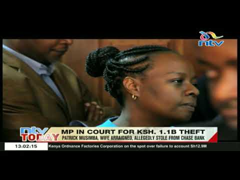 Kibwezi West Mp and his wife to remain in custody until Thursday