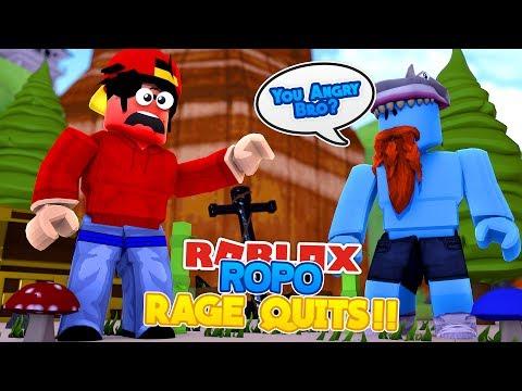 ROBLOX Adventure - ROPO RAGE QUITS!!!
