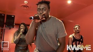 AUD'$ The Vault Cyphers: Group 2 Cypher   Aywin, Kwame, Droopo