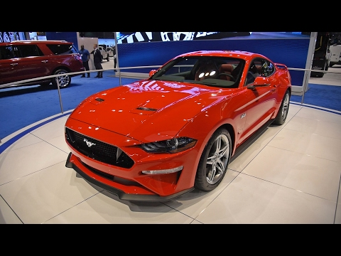 2018 Ford Mustang First Look: 2017 Chicago Auto Show
