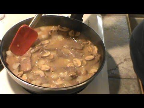 Quick Beef Stroganoff