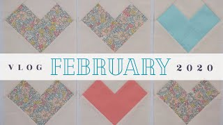 FEBRUARY | Making Hearts & a Pin Banner