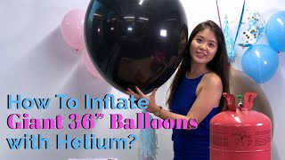 How To Inflate Balloons with Helium Like A Pro? 🎈