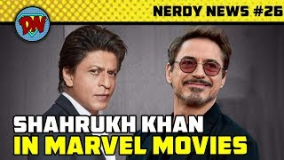 Gambar cover Shahrukh in MCU, Captain Marvel Trailer, Henry Cavil Exits, Avengers 4, DC Tv Shows | Nerdy News #26