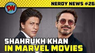 Shahrukh in MCU, Captain Marvel Trailer, Henry Cavil Exits, Avengers 4, DC Tv Shows | Nerdy News #26