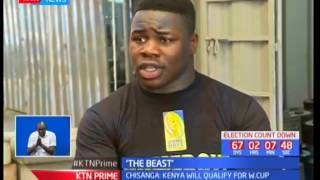 Joshua Chisanga narrates his journey away to England's Falcons playing professional rugby