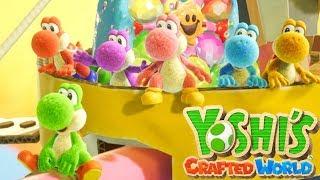 Yoshi's Crafted World   Full Game Walkthrough