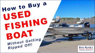 Learn How to Buy a Used Aluminum #Fishing Boat for Sale by Boat Dealer