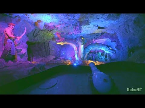 Adventures of Sinbad Dark Boat Ride - Lotte World Theme Park