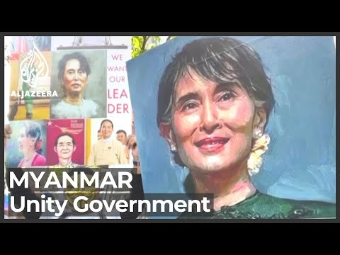 Opponents of Myanmar coup announce unity government