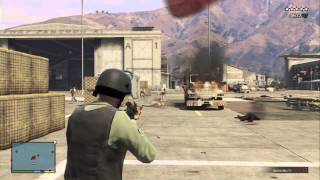 GTA 5: One Man Army (Fun With Cheats, Bored of Waiting for GTA Online)