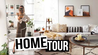 HOUSE TOUR    🌿 [p A R T  1]   Earthy, Neutral, Boho Style   🌲| Karissa Pukas HOME