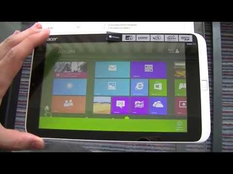 Acer Iconia W3-810 - Preview