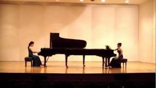 Arensky, Suite for Two Pianos No.1, op.15 - Romance