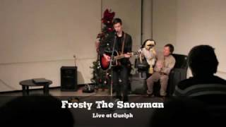 Eric Leigh - Frosty The Snowman Cover (Live at the Guelph Public Library)