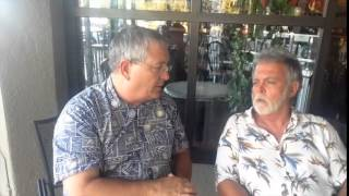 DON COUCH, present Maui County Councilman, Kihei residency seat, interview with Jason Schwartz 7-29-14