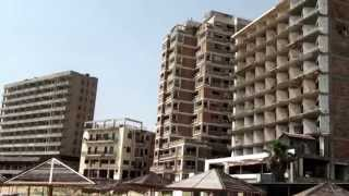 preview picture of video 'Famagusta Varosha ghost town'