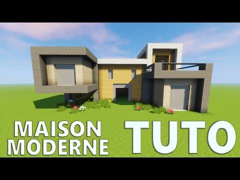 TUTO GRANDE MAISON MODERNE ! | Minecraft