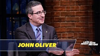 John Oliver Thinks It's Too Early to Talk About the 2020 Elections