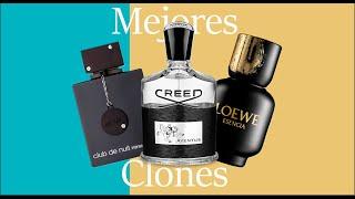 TOP 5 Mejores Clones de Creed Aventus | Español