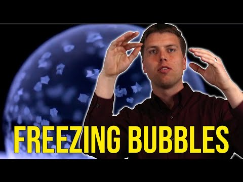Freezing bubbles are not only beautiful, but also demonstrate incredibly complex physics. Here, Professor Jonathan Boreyko explains how bubbles freeze with examples of slow motion videos filmed in his laboratory at Virginia Tech.