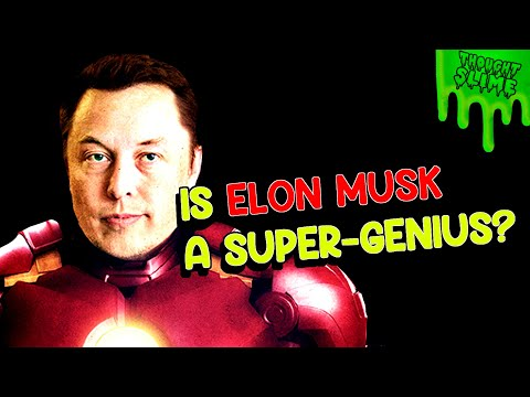 Is ELON MUSK a Super-Genius? Is he a real life IRON MAN?!
