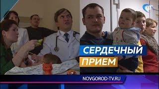 В детской областной больнице провел прием петербургский кардиохирург Владимир Болсуновский