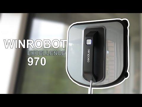 Cecotec Winrobot Excellence 970, review de un robot limpiacristales