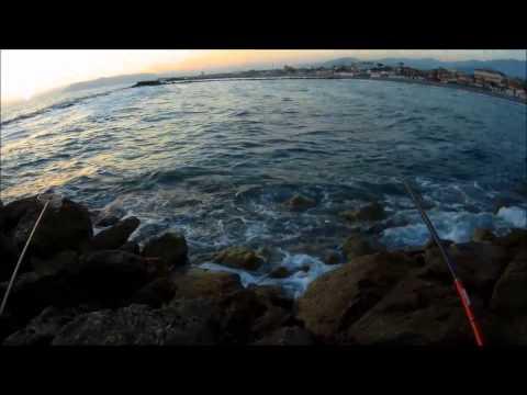 La pesca in una picca si appollaia in luglio