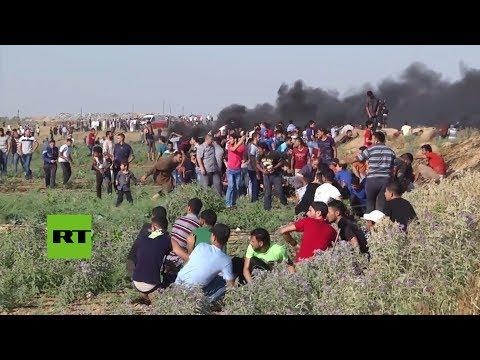 Militares israelíes matan al menos a un palestino al abrir fuego en Gaza