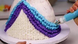 10 AMAZING ways to ice a CAKE Compilation!!