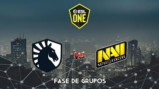 Team Liquid vs NAVI - ESL One Los Angeles
