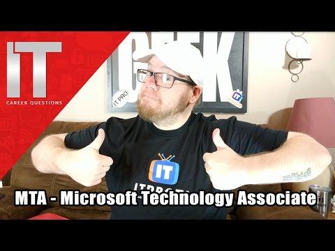 MTA Microsoft Technology Associate - I.T. Infrastructure - Developer ...
