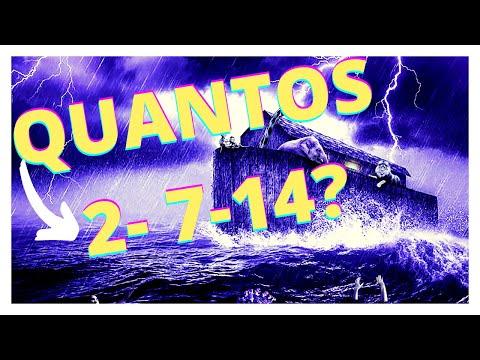 Quantos animais entraram na arca de Noé?