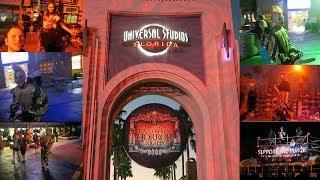 Halloween Horror Nights 2017 Universal Studios Orlando Florida. SCARY STUFF!!