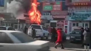 Более 50 пожарных тушили крупный пожар в Талдыкоргане