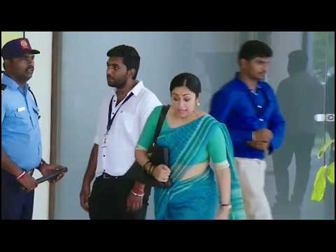 JYOTHIKA HOT BOOB SHOW IN TIGHT BLOUSE