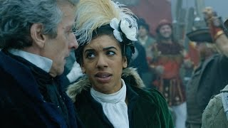 Introduction de l'épisode 3 'Thin ice' par Capaldi et Pearl Mackie