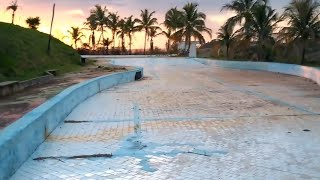 Um Parque Aquático Totalmente Abandonado  (VEJA O ESTADO!!)