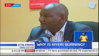 Nyeri County Government raise alarm over increase of fire incidents in the county