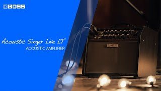 Boss Acoustic Singer Live LT Video