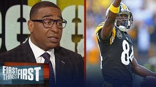 Cris Carter thinks New England is a viable landing spot for Antonio Brown | NFL | FIRST THINGS FIRST