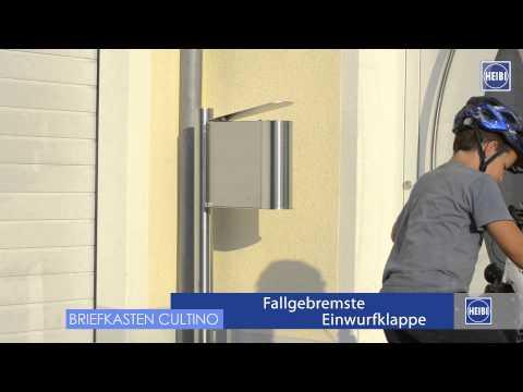 Standbriefkasten CULTINO-STAND von Heibi – made in Germany